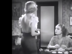 carol lombard in a wonderful see through blouse