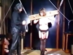 vintage bdsm movie scene scene with sexy slaves p7