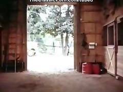 porn movie scene scene on a hay