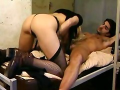 chipy marlow & jade in sexy french orgy with
