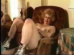 vintage grandmom fucking hard on the sofa