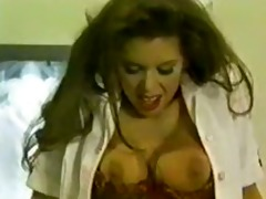 vintage dark brown hair gets pounded