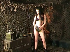 susanna francessca army angel striptease