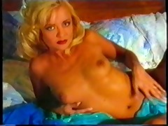 georgeous blonde teases teases and lastly bonks