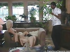 blonds sucking black dong