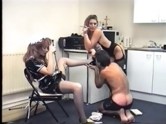 vintage merciless mistresses beat their lowly