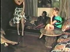 dark girl, white lad lesbo scene