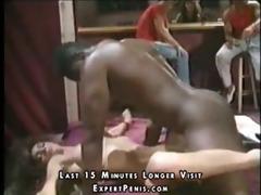 hot dark brown hair stripper wants black boy -