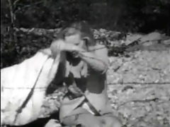 vintage stripper film - caught in the barbed wire