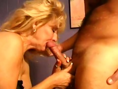 hot classic aged blonde cougar