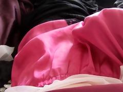 pink french knicker cum