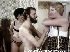 vintage porn 2743s - classic curly interracial