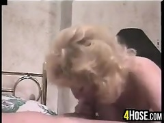 golden-haired breasty granny getting screwed