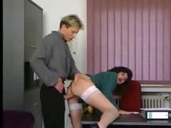 mature secretary acquires fucked