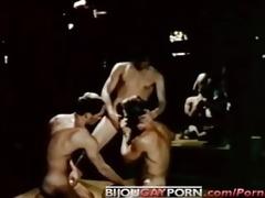 seventies homo disco threeway - grease monkeys