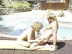 married couple fuck near pool