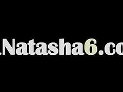 astounding natasha masturbating at pool