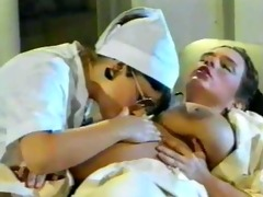 preggo babe with the slutty nurse and doctor