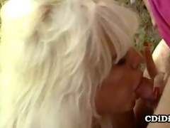 barbi dahl - sweet vintage oral stimulation job