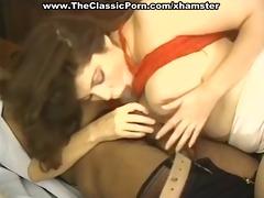 dark piston oral-stimulation and tit fuck