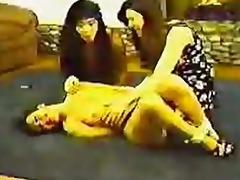vintage tickling