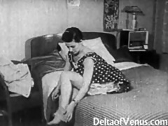 vintage porn 113263s - hairless pussy, voyeur fuck