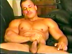 steve sterling cock-teases and jacks off