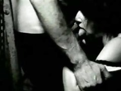 lydia lunch gives blow job - from a art short film