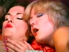 classic fellatio and anal sex scene with 8 gals