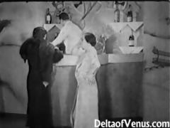 authentic vintage porn 41000s - ffm trio