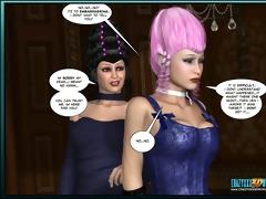 0d comic: aveline. movie scene 11