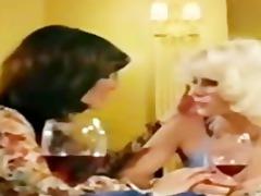 lesbos seka in retro movie scene