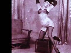 betties rumble - vintage nylons tease (non nude)