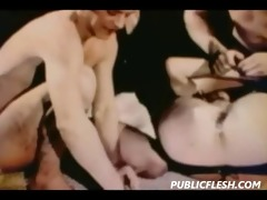 retro homosexual bdsm and anal insertions