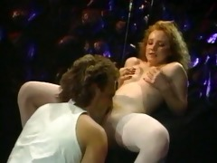 redhead freckled nurse flame shares a cock